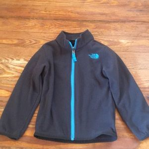 The North Face zip up fleece jacket